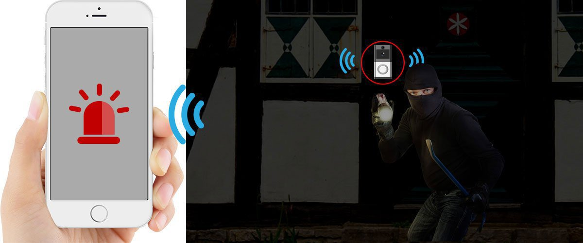 wifi video doorbell wd-610(Special)